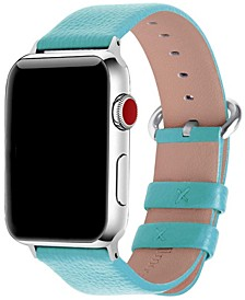 Women's Solid Color Leather Apple Watch Strap 38mm