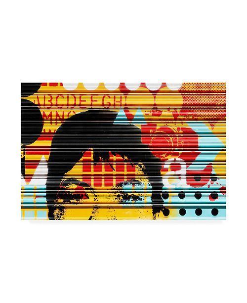 """Trademark Global Philippe Hugonnard Made in Spain Colorful Curtain Canvas Art - 15.5"""" x 21"""""""