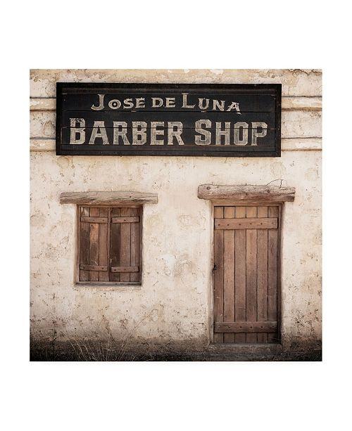 "Trademark Global Philippe Hugonnard Made in Spain 3 Barber Shop Canvas Art - 19.5"" x 26"""