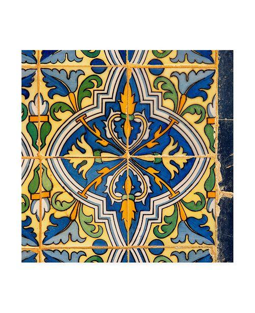 "Trademark Global Philippe Hugonnard Made in Spain 3 Details of Oriental Mosaic Canvas Art - 19.5"" x 26"""