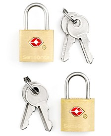 Travel Sentry Set of 2 TSA Friendly Luggage Key Locks