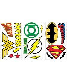 Dc Superhero Logos Peel and Stick Wall Decals