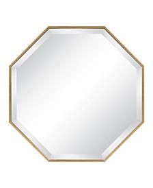 "Rhodes Framed Octagon Wall Mirror - 24.75"" x 24.75"""