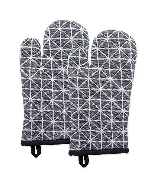 Design Import Triangle Oven Mitt Set of 2