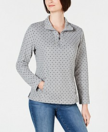 Sport Printed Zip Top, Created for Macy's
