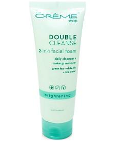 The Crème Shop Double Cleanse 2-In-1 Facial Foam
