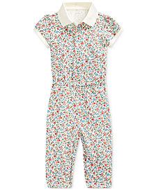 Polo Ralph Lauren Baby Girls Stretch Mesh Jumpsuit
