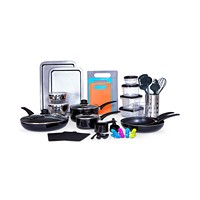 Deals on Sedona Kitchen-In-A-Box 64-Pc. Cookware & Food Storage Set