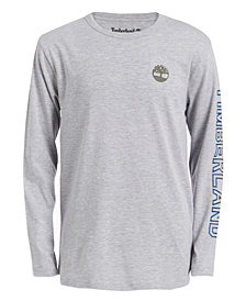 Timberland Big Boys Bill Logo T-Shirt