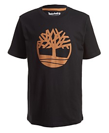 Timberland Little Boys Tree Logo T-Shirt