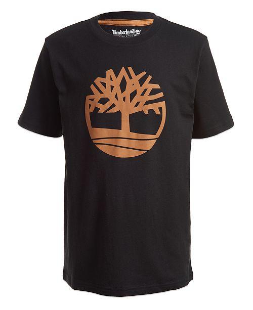 Timberland Little Boys Tree Logo T-Shirt