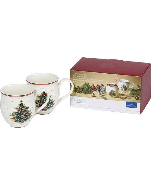 Villeroy & Boch Toys Delight Mug, Set of 2