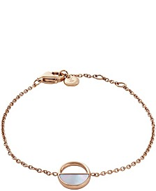 Skagen Women's Elin Stainless Steel Mother of Pearl Bracelet