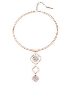 Moroccan Metals Collar Necklace