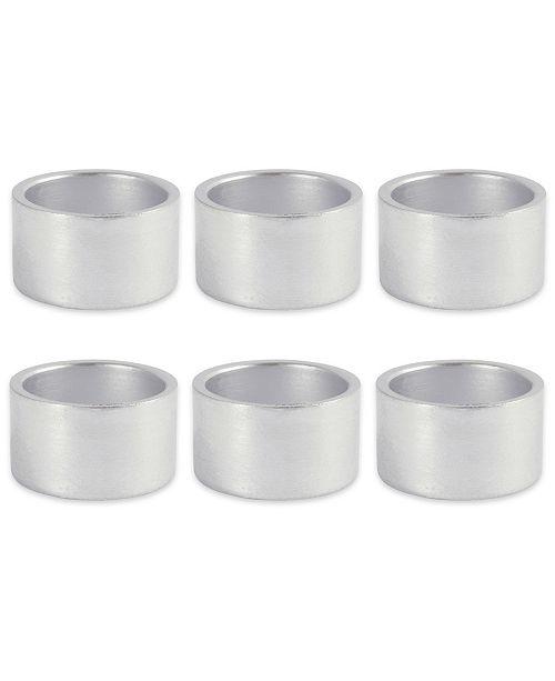 Design Import Circle Napkin Ring, Set of 6