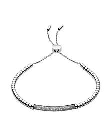 Women's Merete Stainless Steel Brilliant Mesh Bracelet