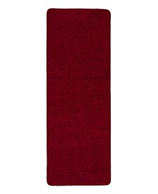 """Luxury Collection Solid Runner Rug With Non-Slip/Rubber-Backing Bath Rug, 20"""" x 59"""""""