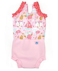 Baby Girls Happy Nappy Swim Diaper Swimsuit