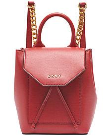 DKNY Alexa Leather Backpack, Created for Macy's