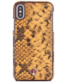 Kate Spade New York Snake Embossed XS iPhone Case