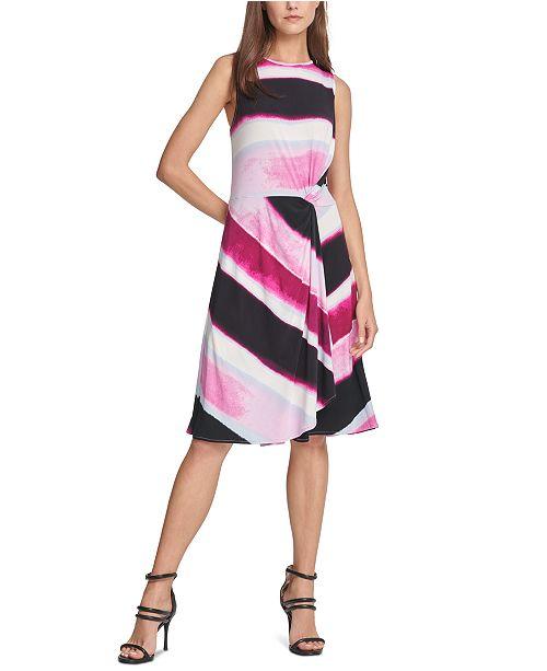 Dkny Striped A Line Dress Reviews