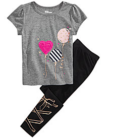 Epic Threads Little Girls Balloon T-Shirt & Leggings, Created for Macy's