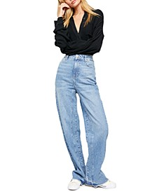 Relaxed Straight Slouch Jeans