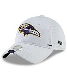 New Era Women's Baltimore Ravens 2019 Training 9TWENTY Strapback Cap