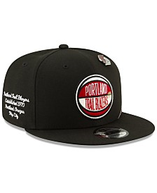 New Era Portland Trail Blazers On-Court Collection 9FIFTY Cap