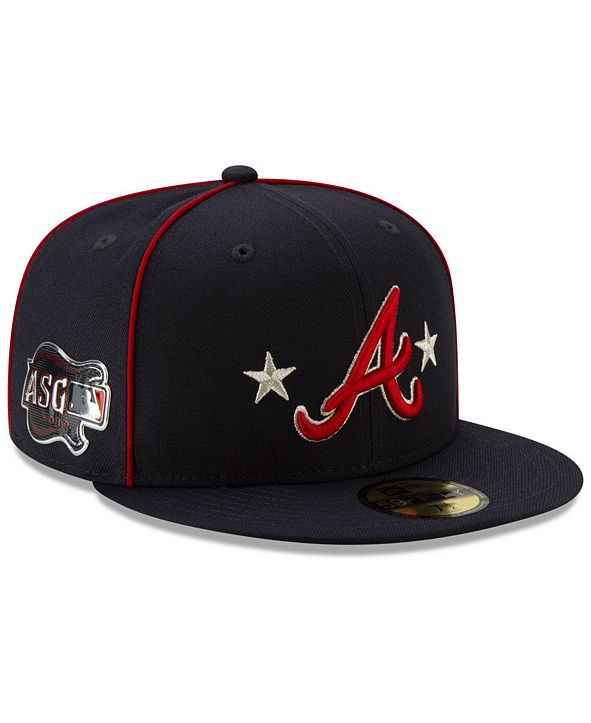 New Era Atlanta Braves All Star Game Patch 59FIFTY Cap