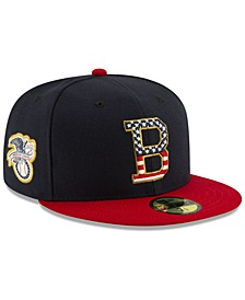 Baltimore Orioles Stars and Stripes 59FIFTY Cap