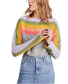 See The Rainbow Sweater