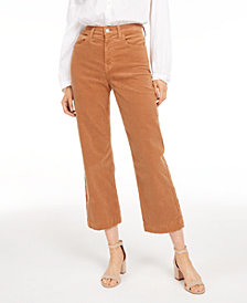 7 For All Mankind Alexa Cropped Corduroy Jeans