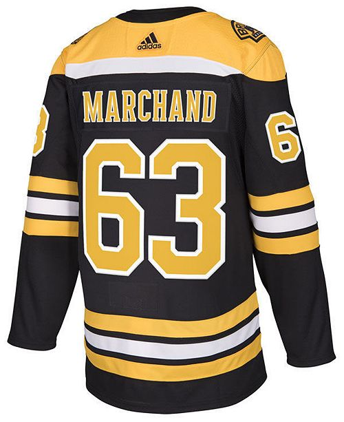 detailed look fa6e0 488f3 Men's Brad Marchand Boston Bruins Authentic Player Jersey