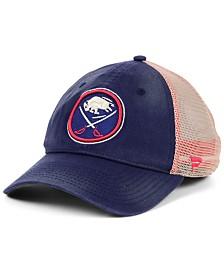 Authentic NHL Headwear Buffalo Sabres Americana Trucker Snapback Cap