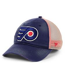 Authentic NHL Headwear Philadelphia Flyers Americana Trucker Snapback Cap