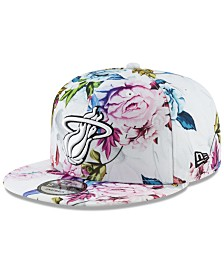 New Era Miami Heat Funky Floral 9FIFTY Cap