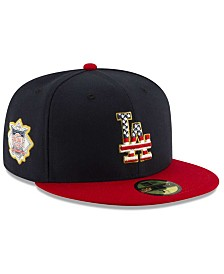 New Era Boys' Los Angeles Dodgers Stars and Stripes 59FIFTY Cap