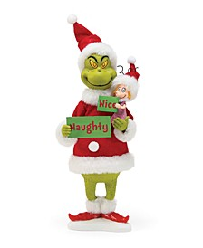 Possible Dreams Santa Naughty or Nice Grinch Figurine