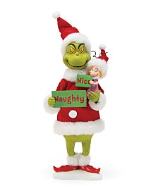 Department 56 Possible Dreams Santa Naughty or Nice Grinch Figurine