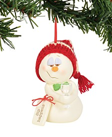 Snowpinions Sip Happens Ornament