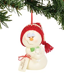 Department 56 Snowpinions Sip Happens Ornament