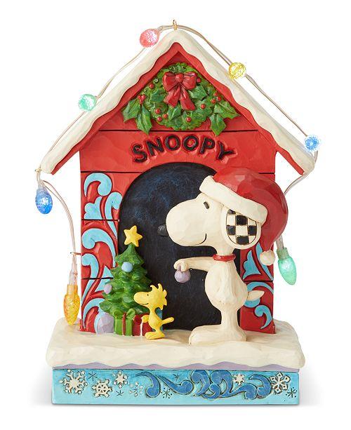 Enesco Jim Shore Snoopy Doghouse