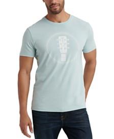 Lucky Brand Men's Martin Guitar Graphic T-Shirt