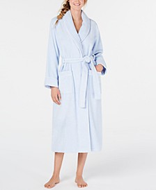 Cotton Luxe Terrycloth Robe, Created For Macy's