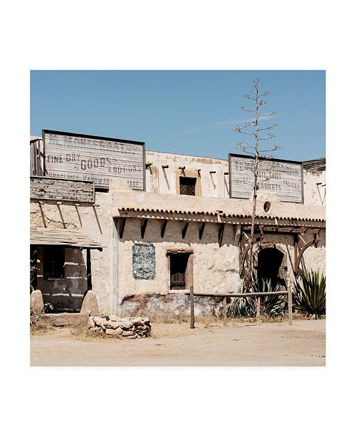 """Trademark Global Philippe Hugonnard Made in Spain 3 Mexican Building Facade Canvas Art - 36.5"""" x 48"""""""