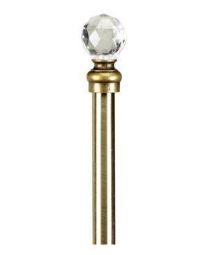 Home Details Crystal Ball Curtain Rod 24