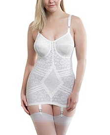 Vintage Style Shaping Slip with Garter, Online Only
