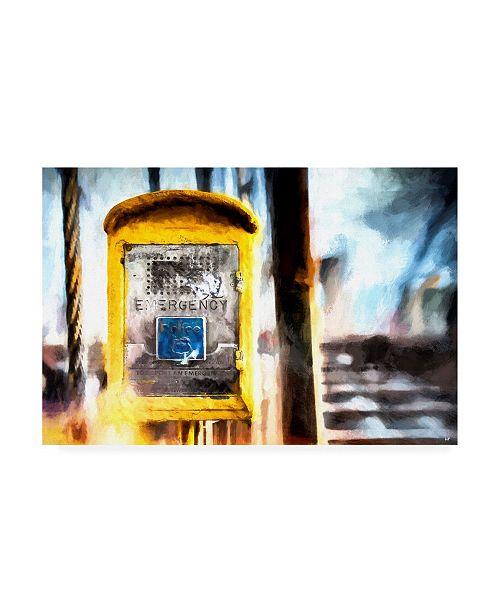 "Trademark Global Philippe Hugonnard NYC Emergency Canvas Art - 15.5"" x 21"""