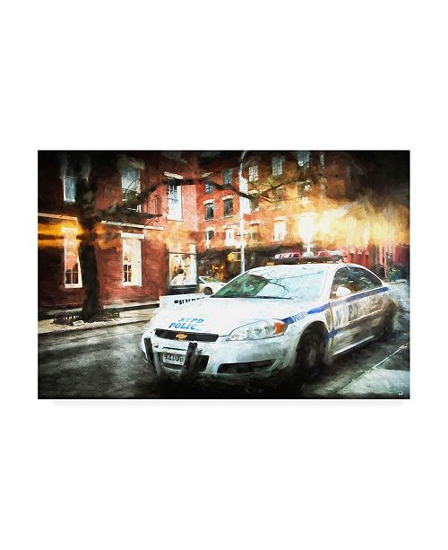 "Trademark Global Philippe Hugonnard NYPD Police Canvas Art - 36.5"" x 48"""